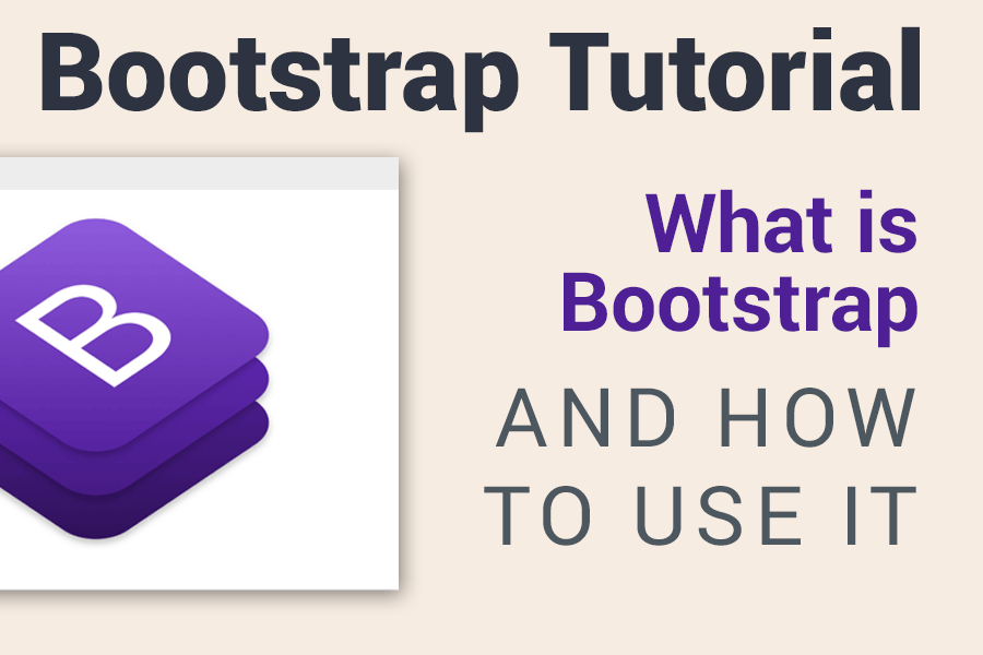 Bootstrap 4 tutorial - Learn Bootstrap by Building a page