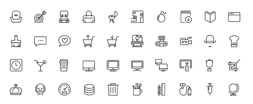 Download Icon fonts: List of 41 Beautiful & Free Icon Fonts ...